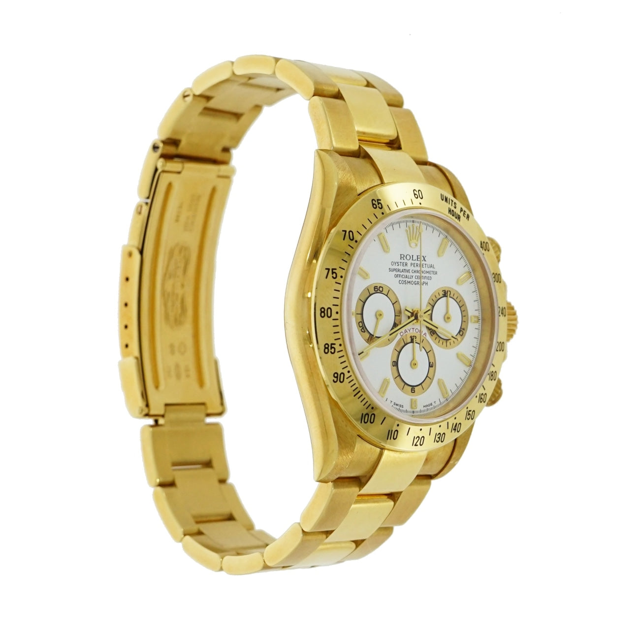 Pre-Owned Rolex Watches - Oyster Perpetual Cosmograph Daytona in 18 Karat Yellow Gold | Manfredi Jewels