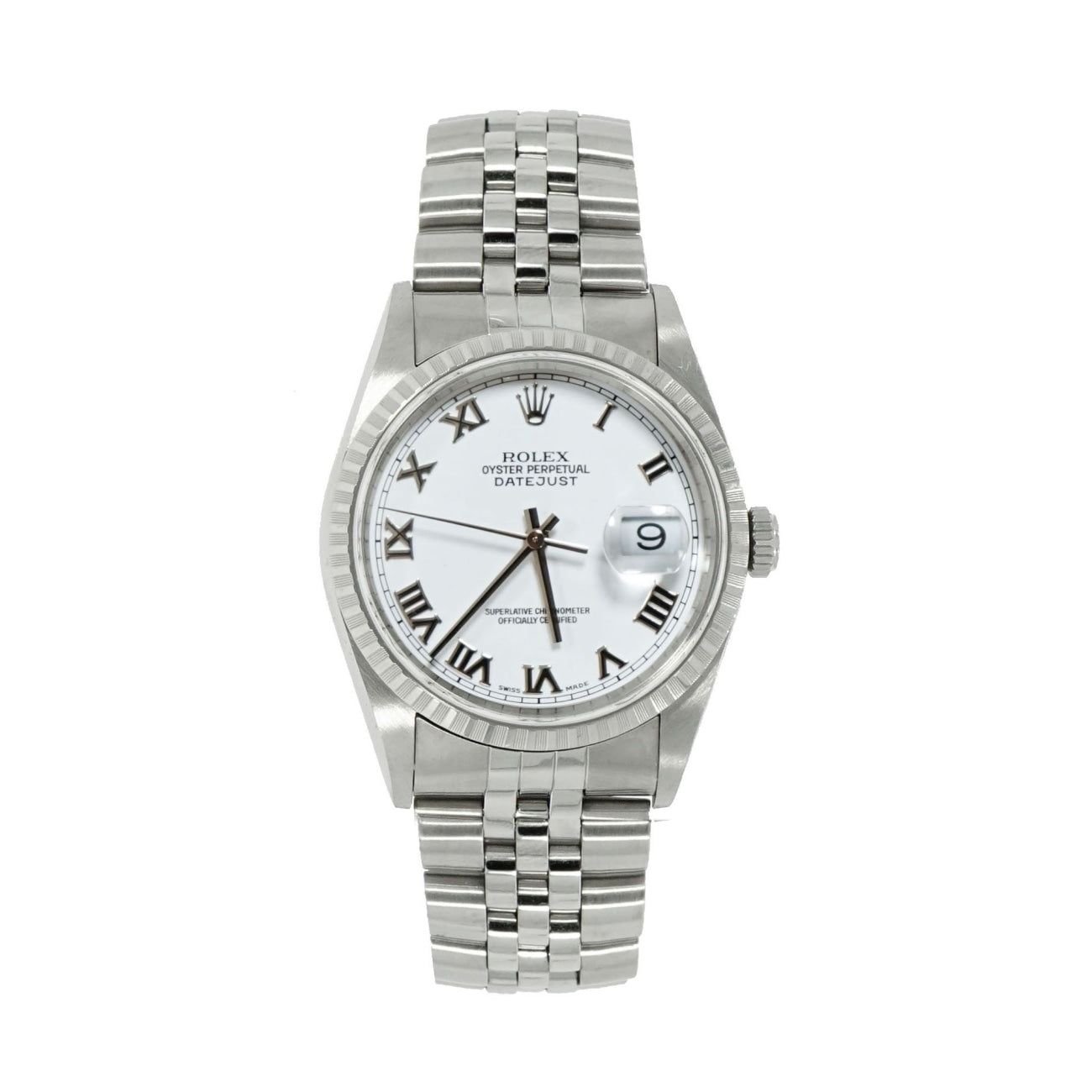 Pre-Owned Rolex Watches - Oyster Perpetual Datejust 16220A | Manfredi Jewels