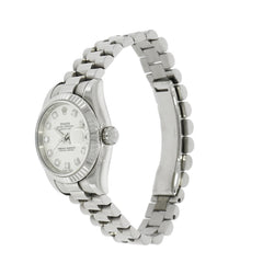 Pre-Owned Rolex Watches - Oyster Perpetual Datejust in 18 karat White Gold | Manfredi Jewels