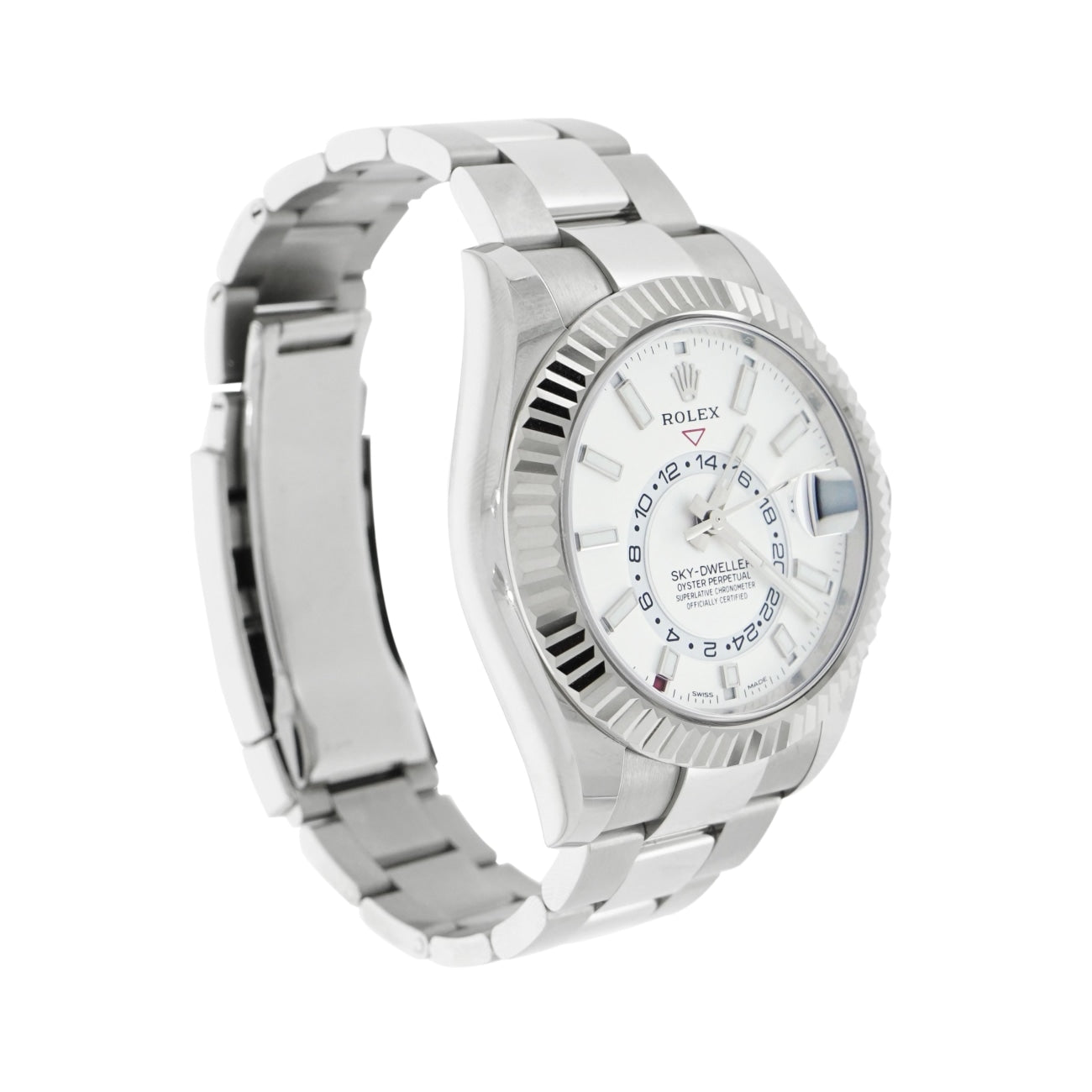 Pre-Owned Rolex Watches - Sky-Dweller Stainless Steel | Manfredi Jewels