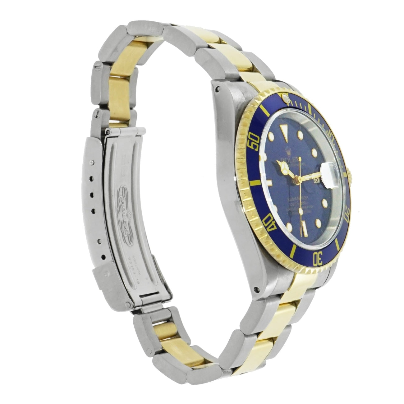 Pre-Owned Rolex Pre-Owned Watches - Submariner Blue Dial Stainless Steel | Manfredi Jewels