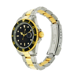 Pre-Owned Rolex Watches - Rolex Submariner Stainless Steel and Yellow Gold 16613LN | Manfredi Jewels