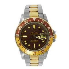 Pre-Owned Rolex Watches - Vintage Gmt Master Rootbeer 1675 | Manfredi Jewels