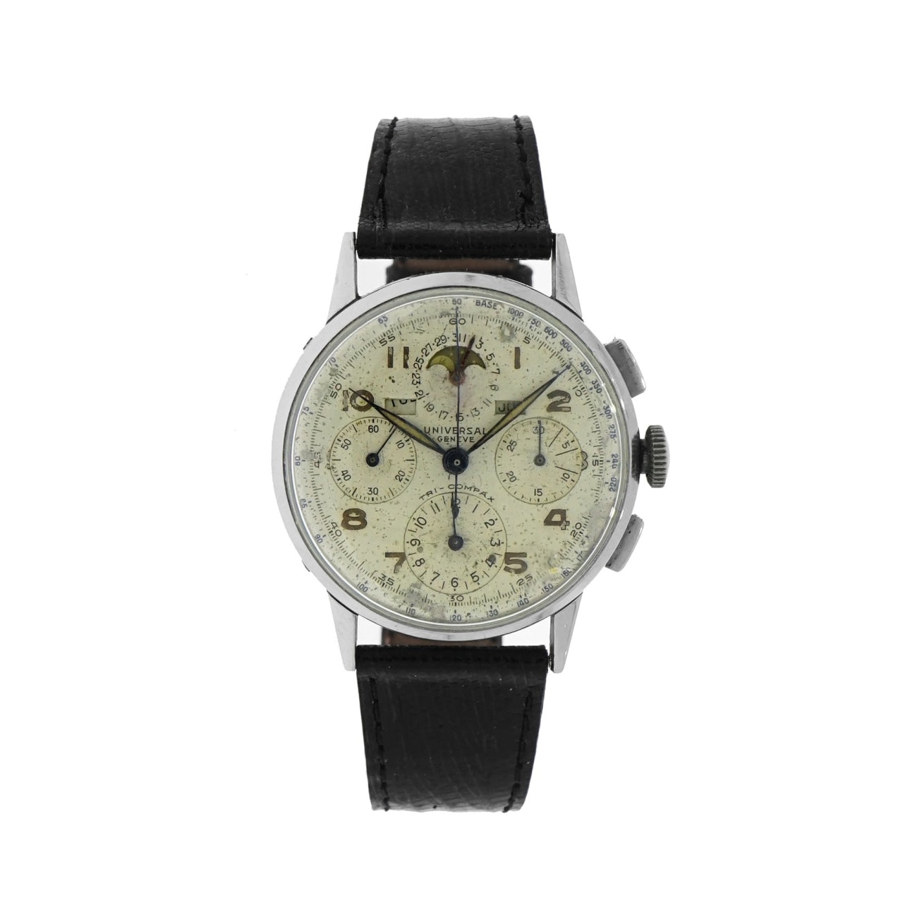 Pre-Owned Universal Geneve Watches - Tripple Date Moonphase Chronograph | Manfredi Jewels