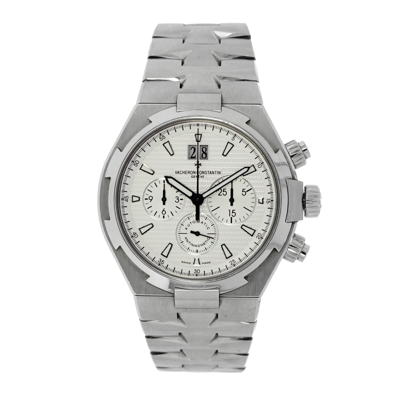 Pre-Owned Vacheron Constantin Watches - Overseas Chronograph Stainless | Manfredi Jewels
