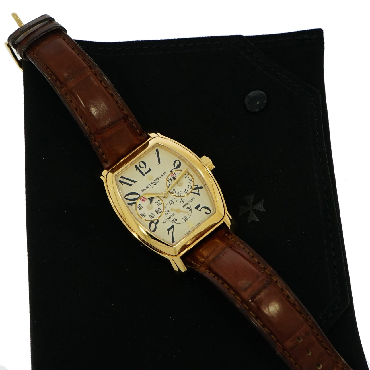 Pre-Owned Vacheron Constantin Watches - Vacheron Constantin Royal Eagle Day/Date in 18 Karat Yellow Gold | Manfredi Jewels