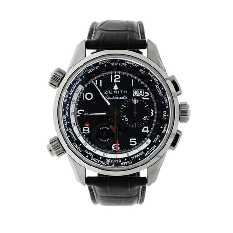 Pre-Owned Zenith Watches - Zenith El Primero Doublematic Chronograph | Manfredi Jewels