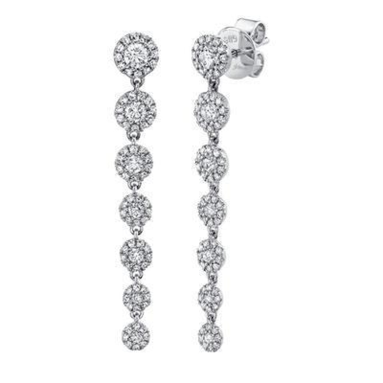 Shy Creation Jewelry - 0.80CT DIAMOND EARRING | Manfredi Jewels