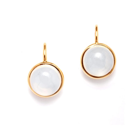 Syna Jewelry - Syna Moon Quartz Baubles Earrings 18k Yellow Gold | Manfredi Jewels
