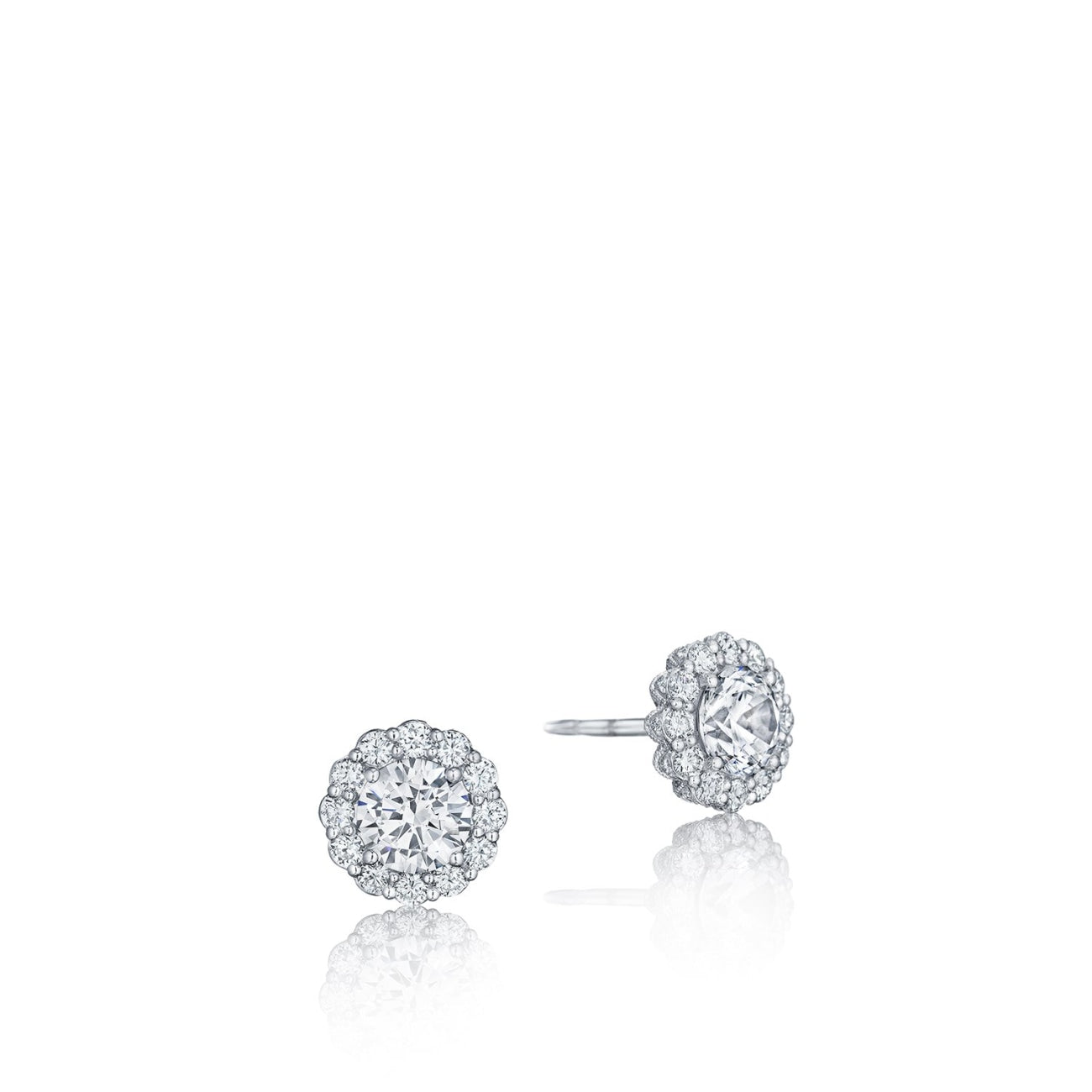 Tacori Jewelry - Dantela Diamond Earrings | Manfredi Jewels