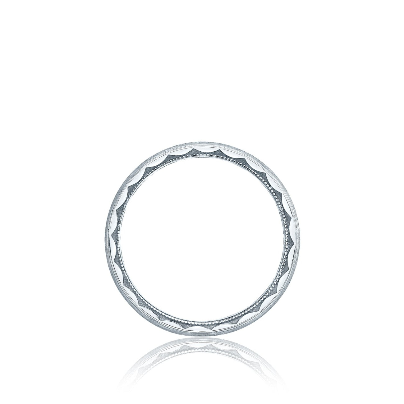 Tacori Jewelry - Millgrain edge mens band | Manfredi Jewels