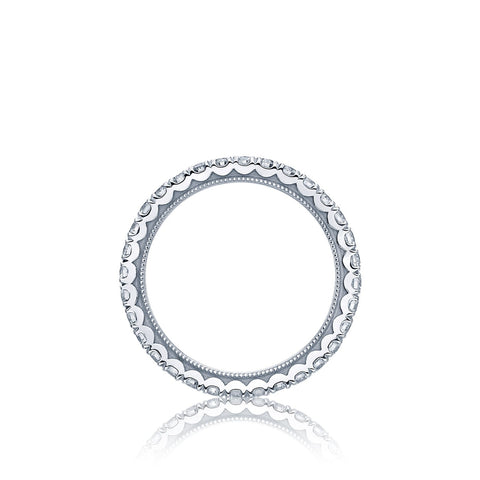 Tacori Jewelry - Plat diamond eternity band | Manfredi Jewels