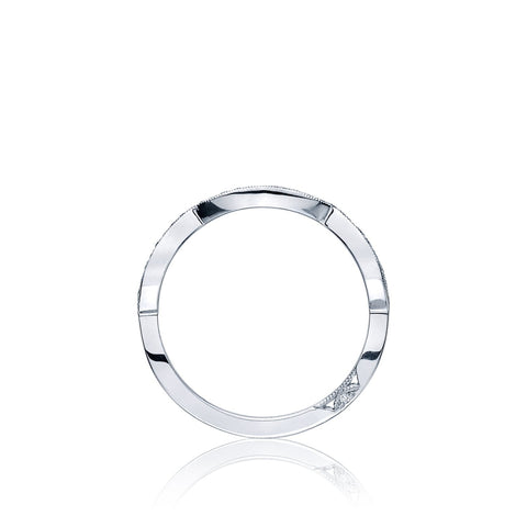 Tacori Jewelry - Plat Ribbon diamond band | Manfredi Jewels