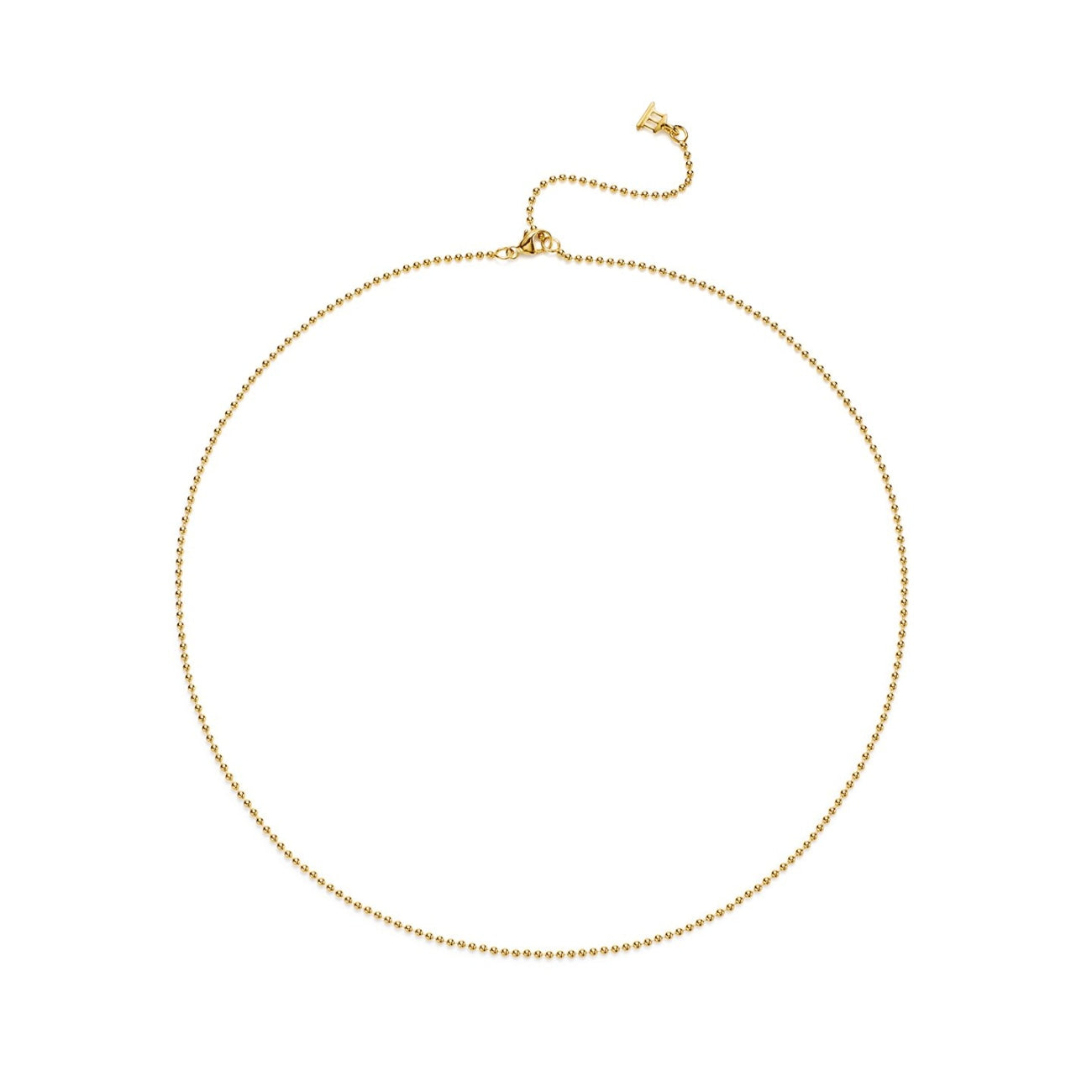 Temple St Clair Jewelry - 18K Ball Chain with 2 Extender | Manfredi Jewels