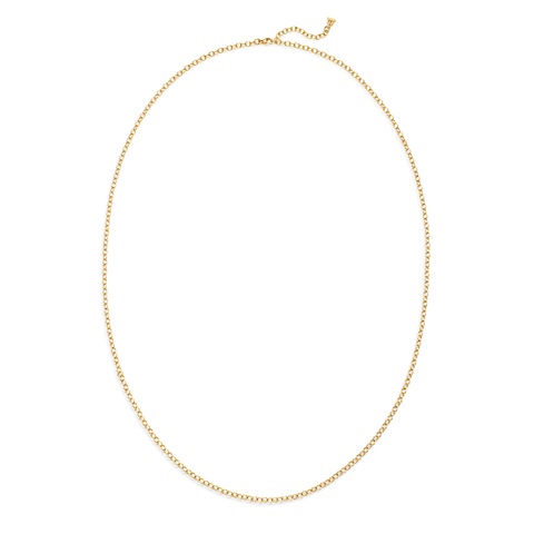 Temple St Clair Jewelry - 18K Extra Small Oval Chain | Manfredi Jewels