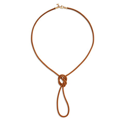 Temple St Clair Jewelry - 18K Natural Leather Cord | Manfredi Jewels