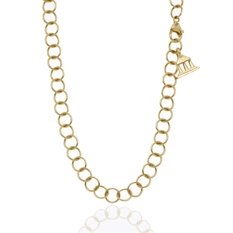 Temple St Clair Jewelry - Round Chain in 18k Yellow Gold | Manfredi Jewels