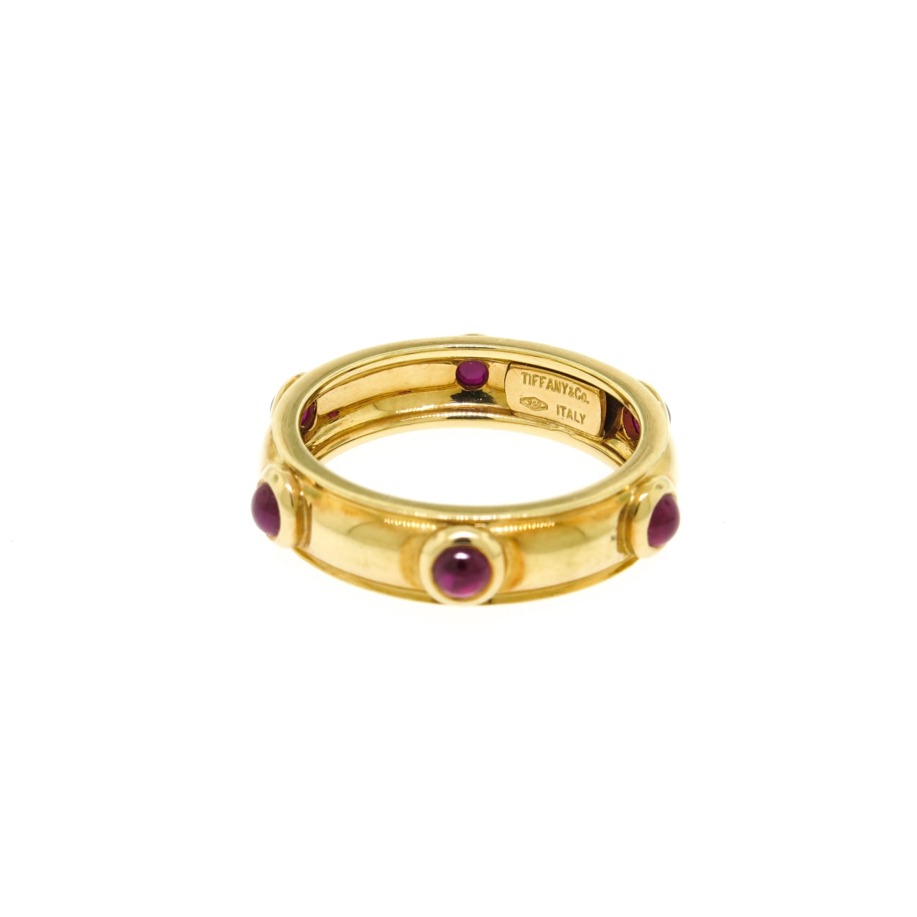 Tiffany & Co. - Estate Jewelry Estate Jewelry - Tiffany & Co. Ruby Yellow Gold Ring | Manfredi Jewels