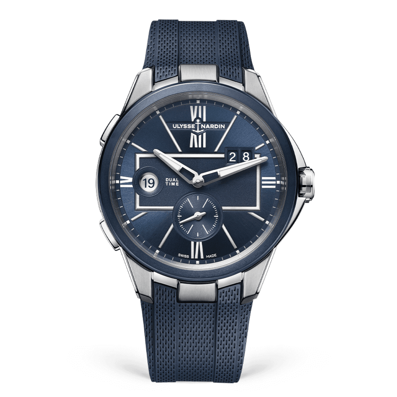 Ulysse Nardin Watches - Executive Dual Time 43 mm | Manfredi Jewels