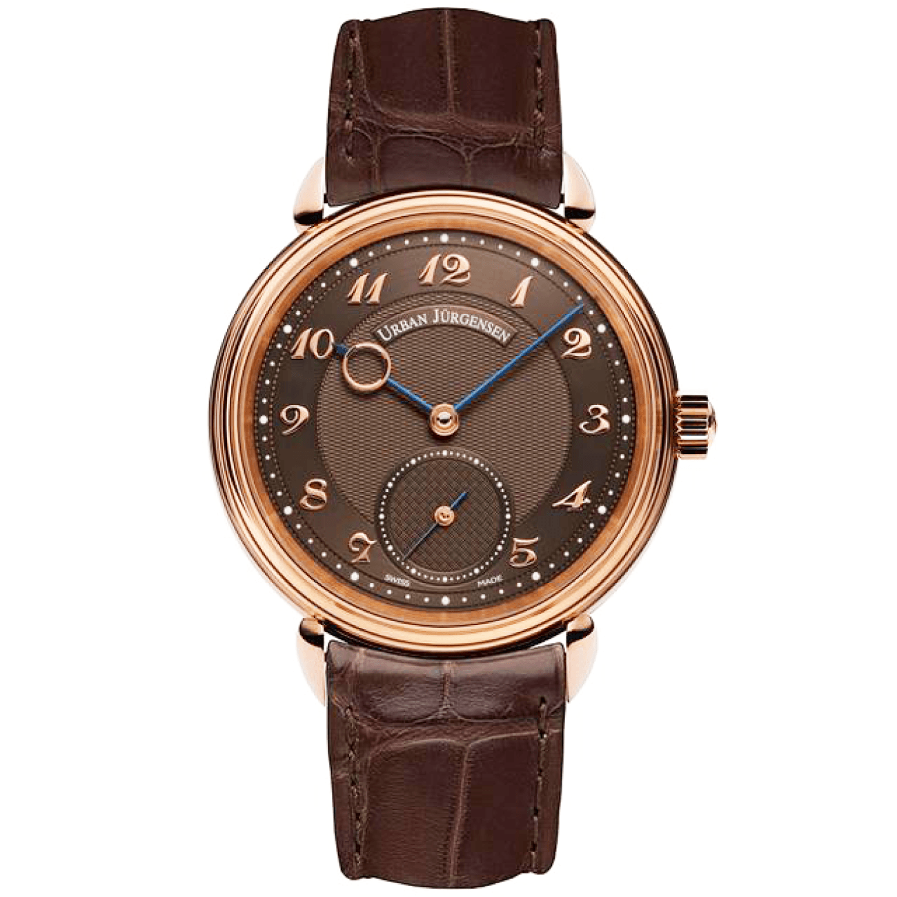 Urban Jurgensen Watches - LIMITED EDITION - 20 PIECES REFERENCE 1140 RG BROWN | Manfredi Jewels