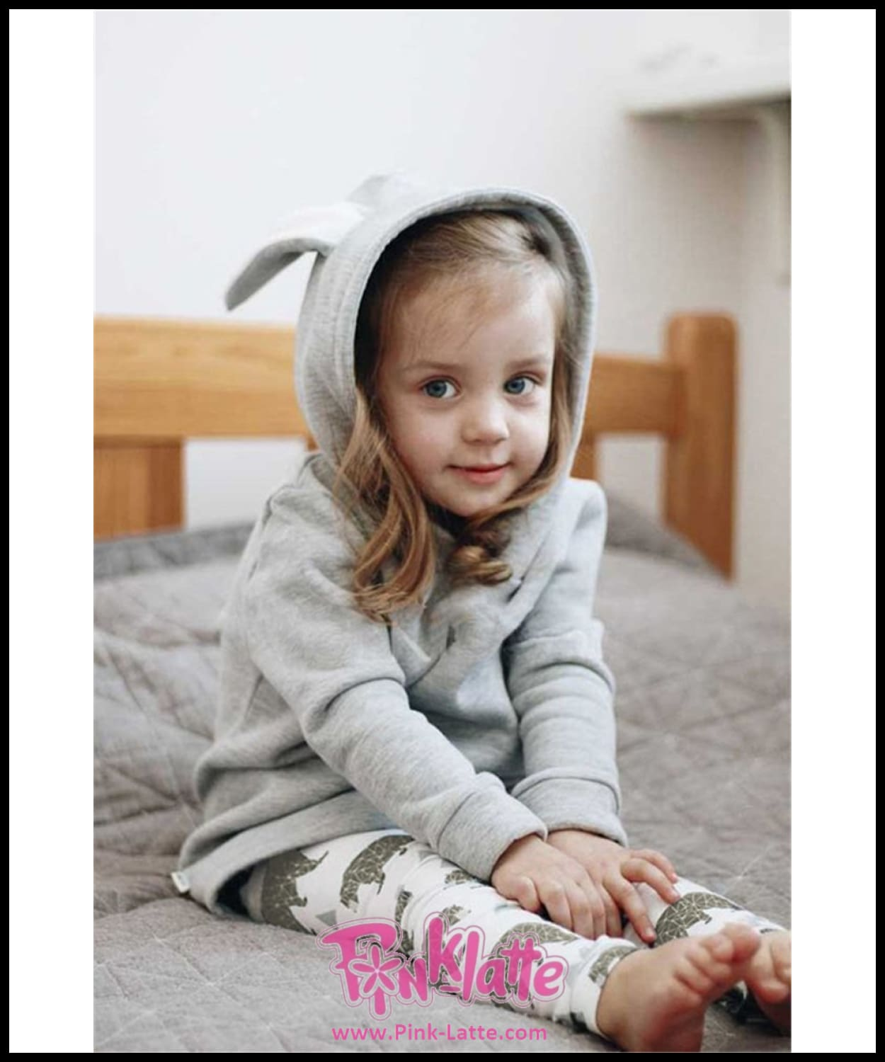 901739df0b52 Baby Girl Kids Cute Rabbit Ear Bunny Hoodies Coat Jacket Long Sleeve ...