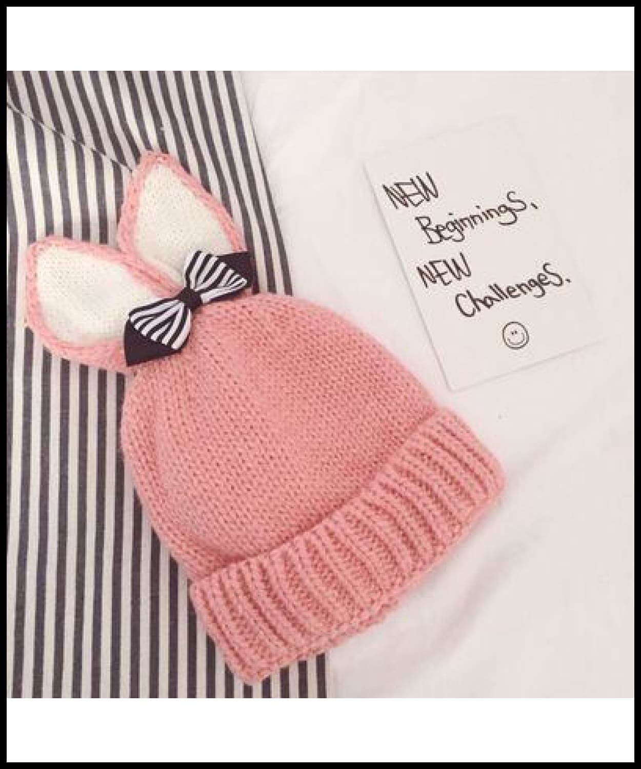 a1d5c0a087d ... Mingjiebihuo Autumn And Winter Plus Velvet Cute Rabbit Ears Bow Warm  Curling Men And Women Baby ...