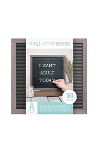 "DCWV - 12""x12"" Letter Board"