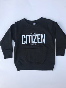 "MINI CITIZEN - ""Mini Citizen Est. 2018"" Crewneck"