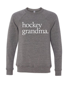 "MINI CITIZEN - ""Hockey Grandma"" Crewneck"
