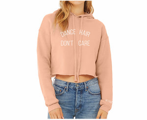 "MINI CITIZEN - ""Dance Hair Don't Care"" Cropped Hoodie"