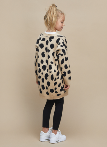 HUX BABY - Animal Spot Knit Cardi