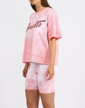 "BRUNETTE THE LABEL - The ""BRUNETTE"" Tie-Dye Vintage Boxy Tee 
