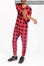 SMASH+TESS - The Present Guy Romper | Poinsettia Plaid