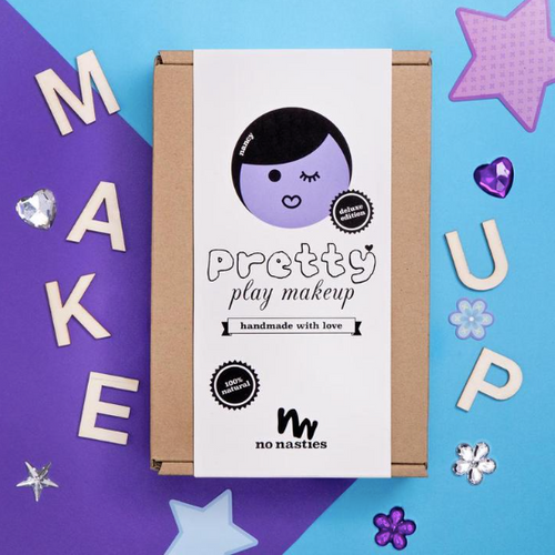 NO NASTIES - NANCY | Deluxe Purple Pretty Play Makeup Box w/ Nail Polish