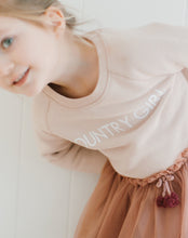 "BRUNETTE THE LABEL - The ""COUNTRY GIRL"" Little Babes Classic Crew by Monika Hibbs 