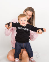 BRUNETTE THE LABEL - The BLONDE Little Babes Crew | Black