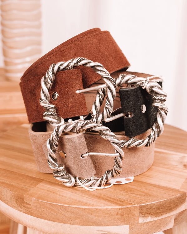 Bend The Rules Leather Belt
