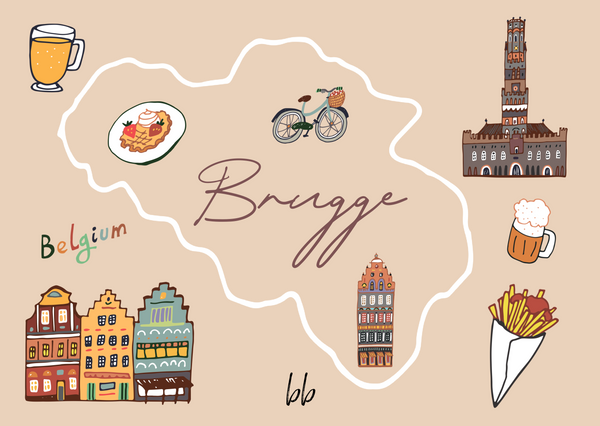 Treasures Of Bruges Postcard