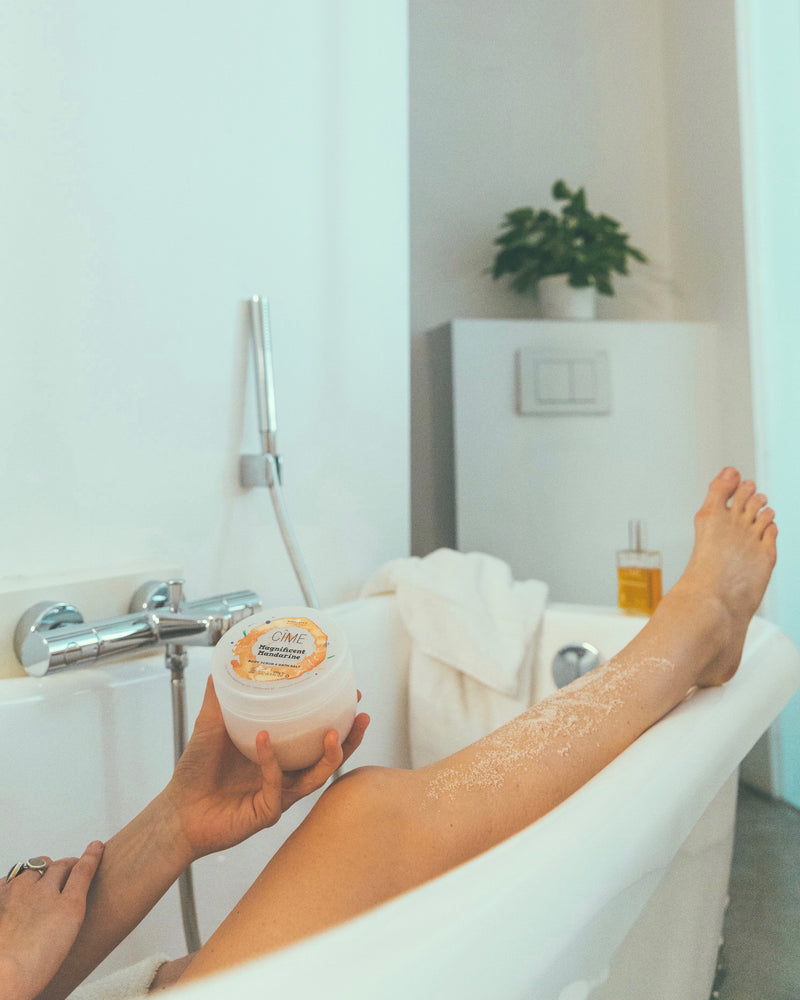 Cîme Magnificent Mandarine | Body scrub & bath salt