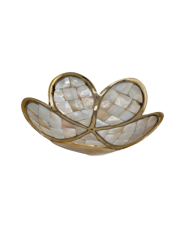 Daisy Mother Of Pearl Bowl