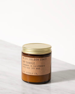 P.F. Candle Co. Golden Coast Soy Candle Blaise Boutique