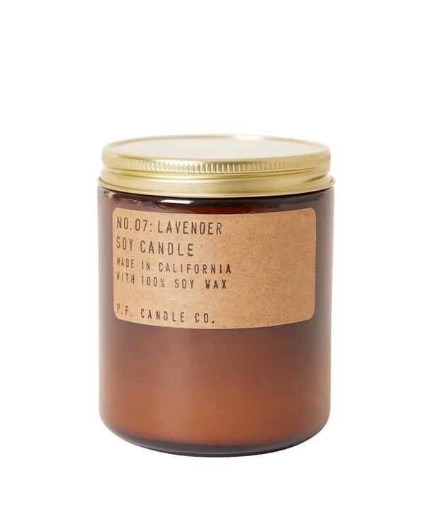 P.F. Candle Co. Lavender Soy Candle