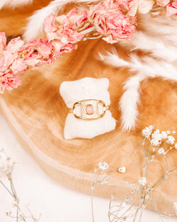 Too Far Gone Rose Quartz Ring