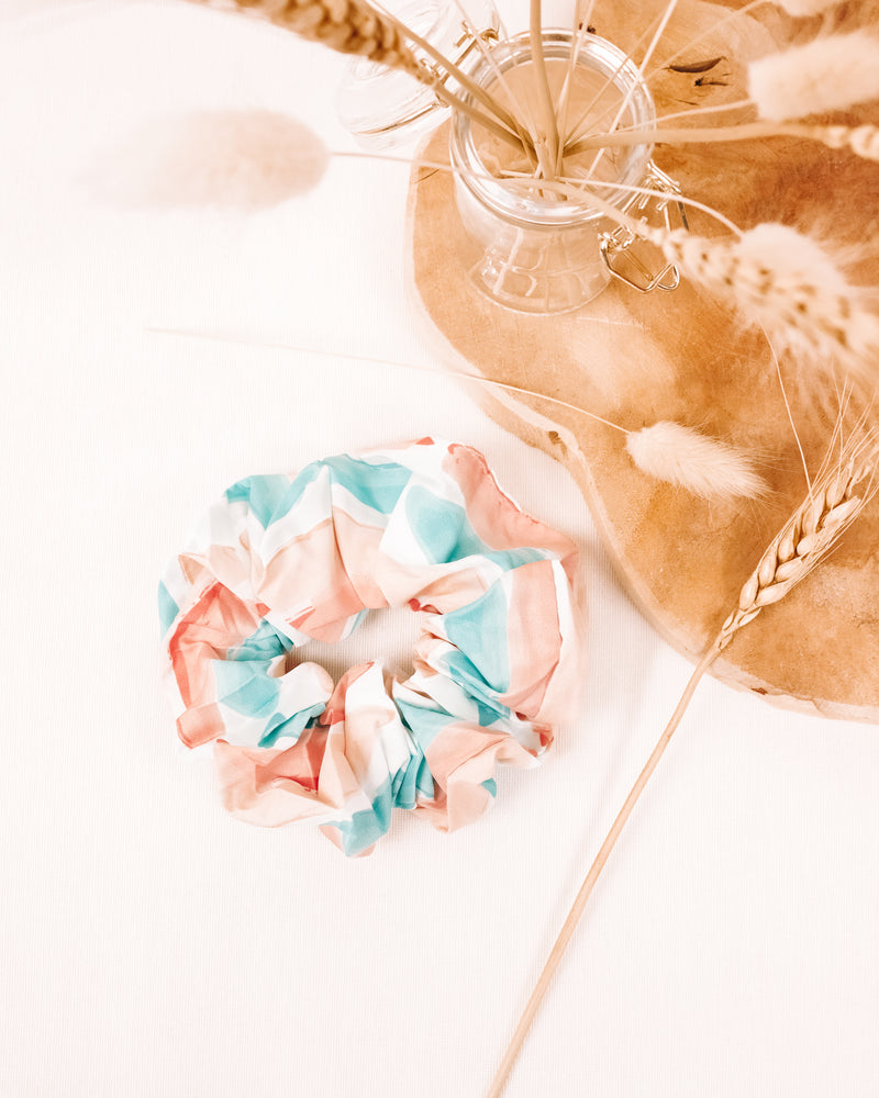 Watercolor Scrunchie