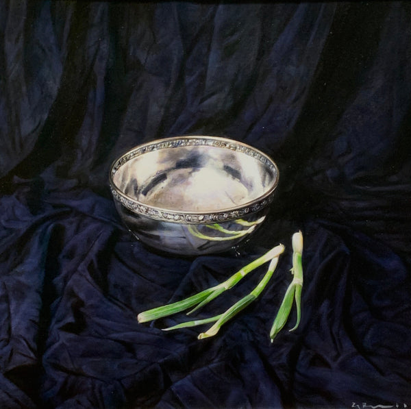 Still Life with Scallions