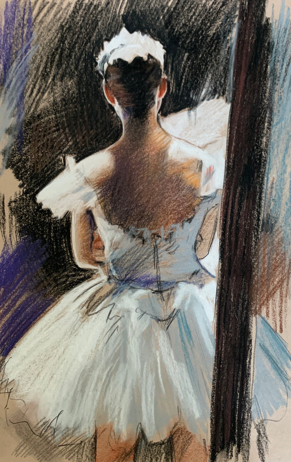 Dancer in a White Dress