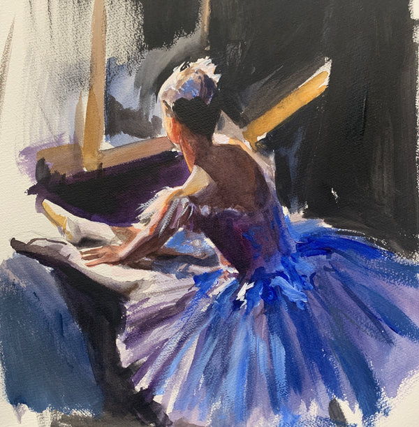 Backstage Study No 2