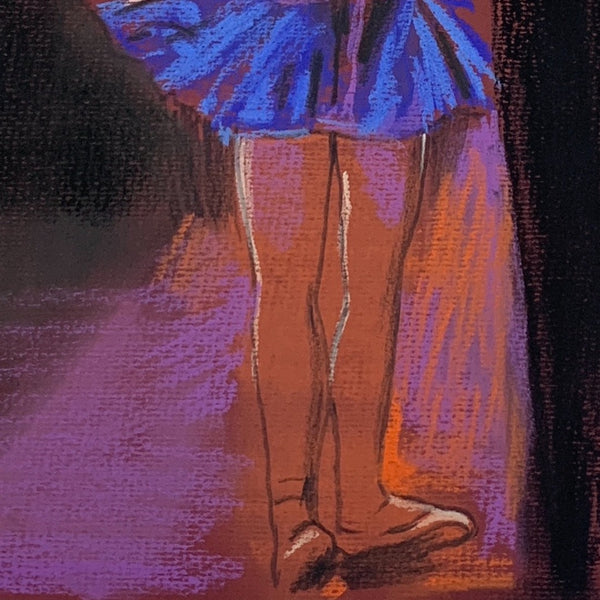 Dancer with a Blue Dress