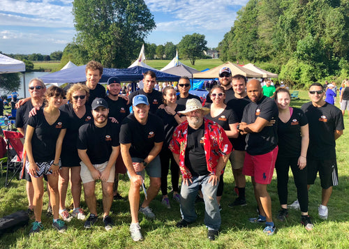 Team LSI at the 2018 Dragon Boat Festival