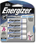 Battery, AA Lithium Energizer e² (4-Pack) - Batteries - Life Support International, Inc.